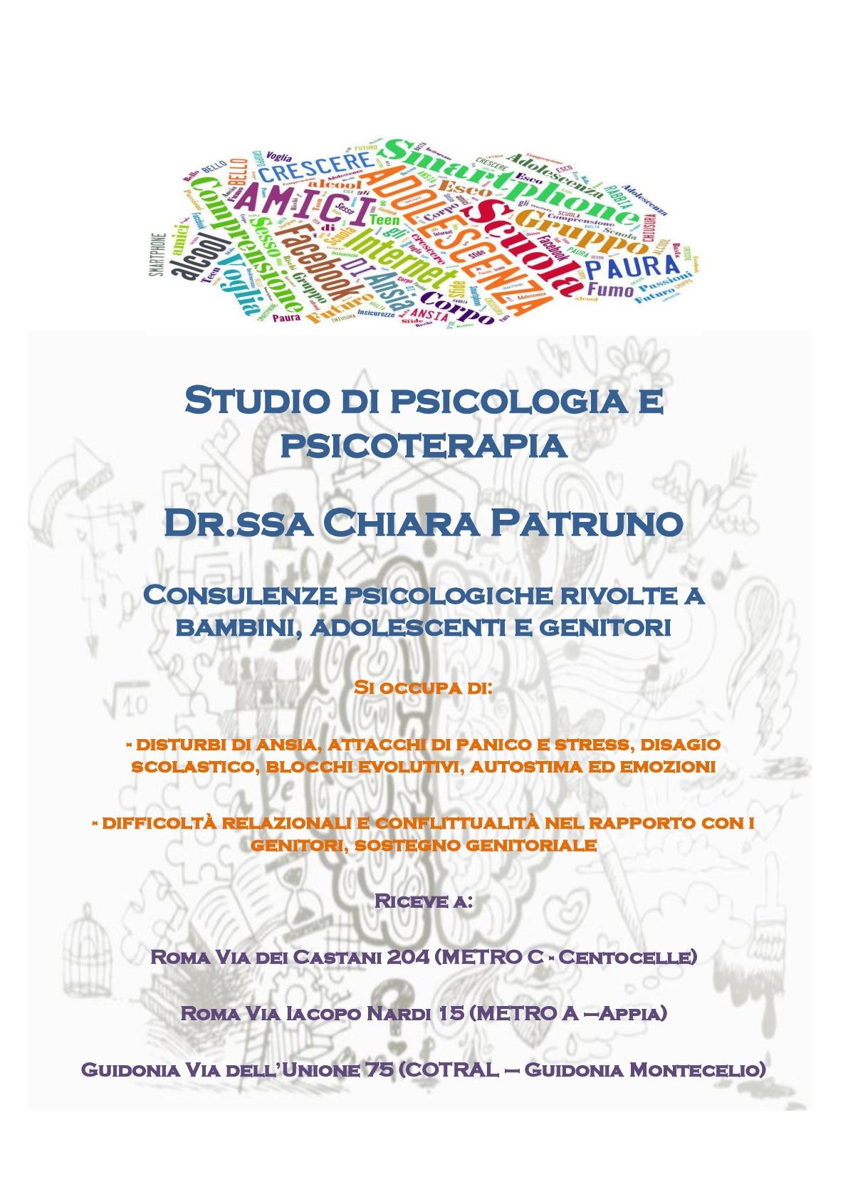 Studio di psicologia e psicoterapia